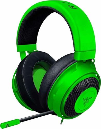 Auriculares Gamer Razer Kraken 2019 Green Pc Ps4 Switch Xbox