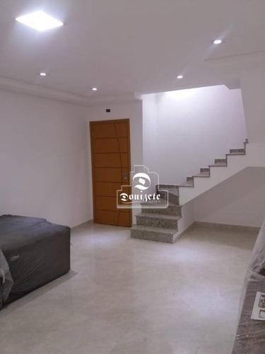Apartamento Duplex À Venda, 130 M² Por R$ 750.000,00 - Nova Gerti - São Caetano Do Sul/sp - Ad0096