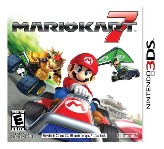 Mario Kart 7 - 3ds - Mídia Física Lacrado