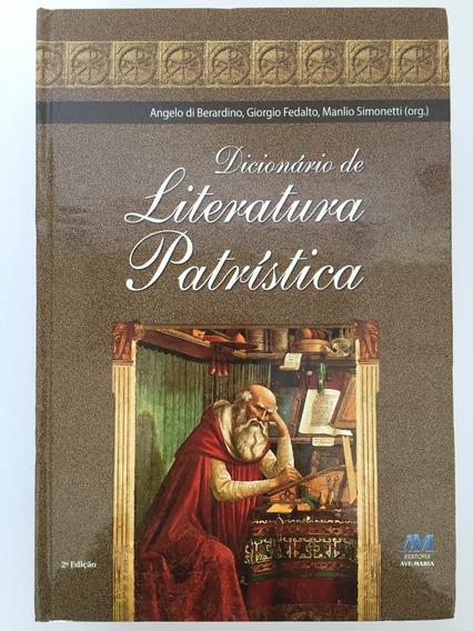 Livro Dicionário De Literatura Patrística Edit Ave Maria