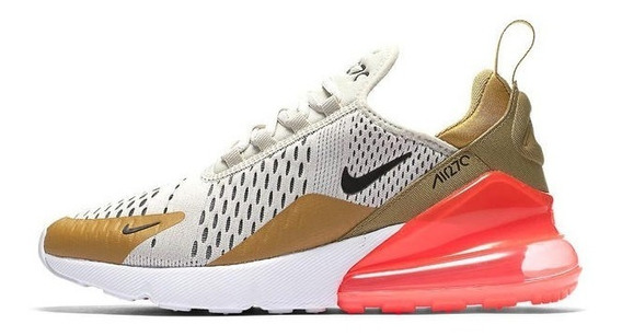 Nike Air Max 270 Flight Gold Originales Imperdibles