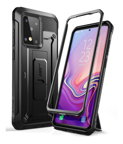 Case Galaxy S20 Note 10 S10 Plus S9 S8 A30s Protector 360°