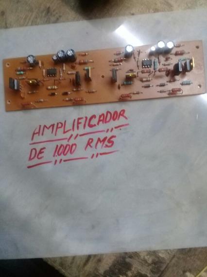 Amplificador De 1.000rsm Por Canal