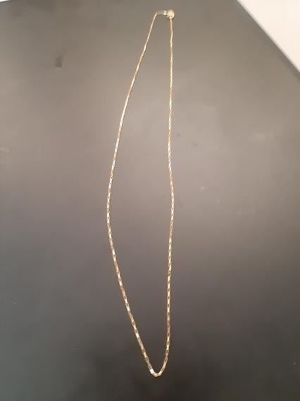 Corrente De Ouro 50cm 1.5mm 18k