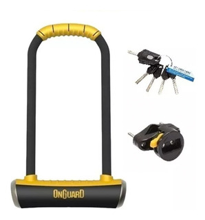 Cadeado Onguard Pitbull Ls U-lock Bike Bicicleta Resistente
