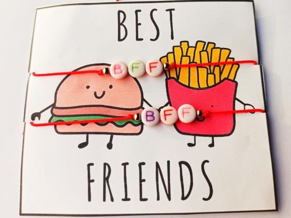 Pulsera Para Mejores Amigos Bff Hilo Chino