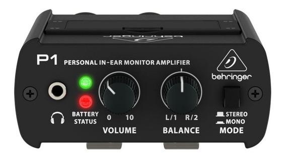 Behringer Powerplay P1 Personal Ampli De Monitor In-ear P