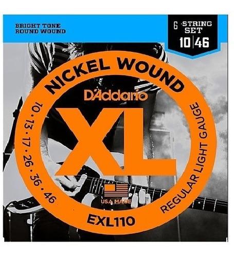 Cuerdas D´addario Exl110 Made In Usa Electrica Dadario