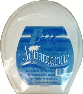 Tapa Asiento Sanitario Prolife Pvc Plastico Blanco