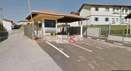 Apartamento Com 3 Dormitórios À Venda, 50 M² Por R$ 180.000,00 - Condomínio Residencial Beija-flor - Itatiba/sp - Ap0481