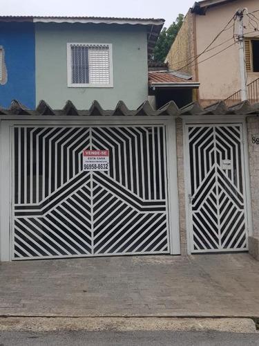 Casa Com 2 Dormitórios Para Alugar, 129 M² - Baeta Neves - São Bernardo Do Campo/sp - Ca10874