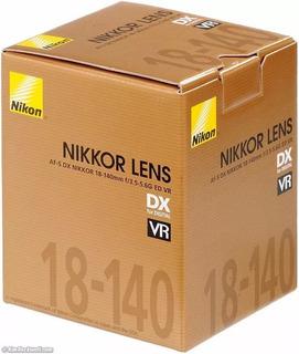 Lente Nikon Af-s Dx 18-140 F/3.5-5.6g Ed Vr Nuevo Orig Gtia
