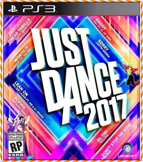Just Dance 2017 Mídia Digital Ps3 Psn Envio Rapido