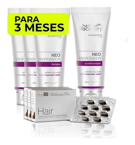 Imagen 1 de 1 de Pack Engrosador (3 Meses) Hair Recovery