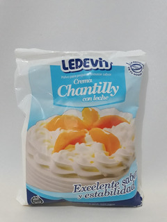 Crema Chantilly Ledevit Polvo 250 Gr