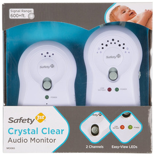 Audio Monitor Crystal Clear 2 Piezas Safety 1st