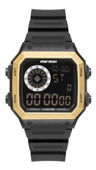 Relógio Mormaii Masculino Esportivo Wave Digital Prova Dágua
