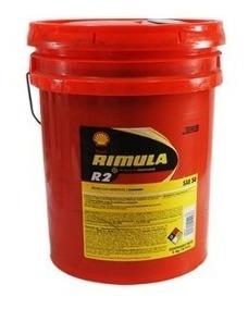 Aceite Diesel Sae 50 Rimula Shell R2 Paila De 20 Litros