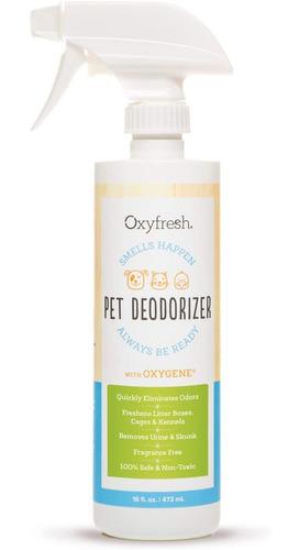 Desodorante Multiusos Oxyfresh Para Perros Y Gatos, No Toxi
