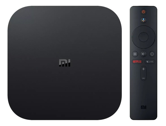 Xiaomi Mi Box S Smart Tv Box 4k Ultra Hd Hdr Sistema Android