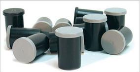Cilindro Plástico De Filme Fotográfico (10 Unidades)