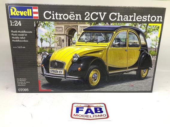 Kit Revell Citroen 2cv Charleston 1948 1/24 - 07095