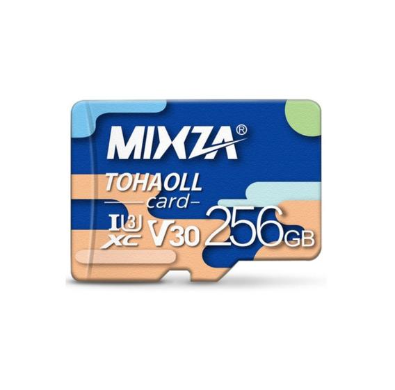Cartão De Memória Micro Sd Mixza De 256gb Classe 10