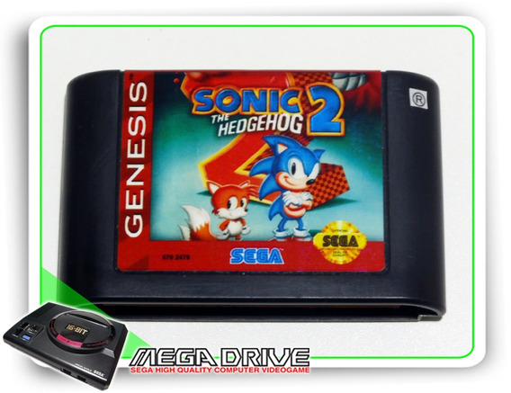 Sonic The Hedgehog 2 Original Mega Drive / Sega Genesis
