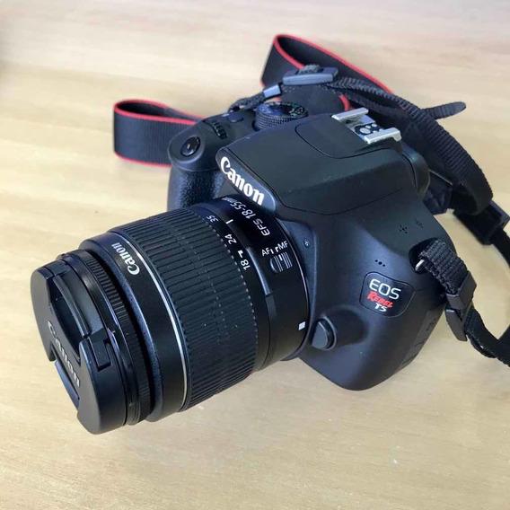 Canon T5 + Lente 18-55mm + Lente 50mm F1.8 + Flash Yh 460 Ii