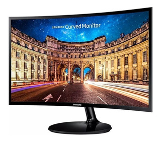 Monitor Samsung 24 Curvo Led Va 4ms C24f390fh