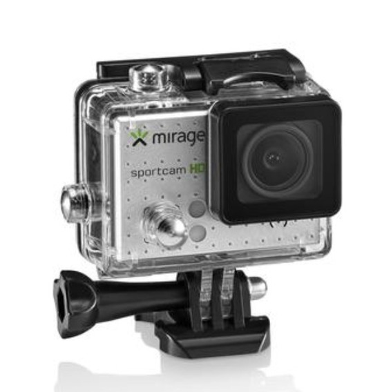 Camera Digital Filmadora 4k Mirage Sportcam + Sd 16gb Nova