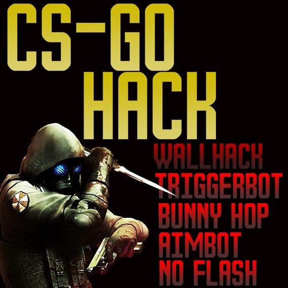 Hack Cs Go Aim, Wallhack, No Flash - 1 Mês De Atualização