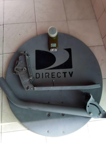 Antena Directv Foco O Lente Lnb Gris Hd, Dual Coaxial 15$