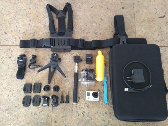 Camera Go Pro Com Assessórios