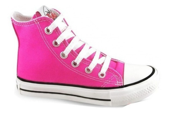 Botitas Lona Roller Star Mujer Originales (35/40) Simil Converse All Star