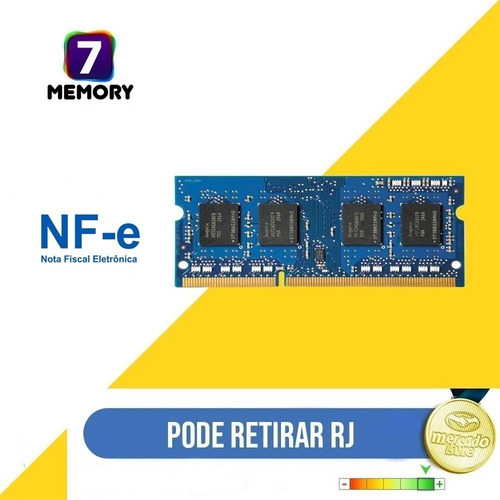 Imagem 1 de 1 de Memória 8gb Ddr4 P/ Samsung E3 7020u Np350xaa - Kf4br