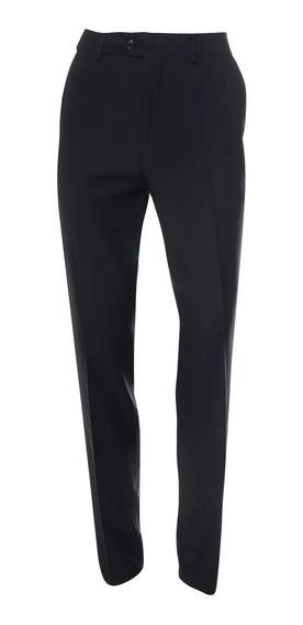 Pantalón De Hombre C&a Formal Corte Semi Ajustado Básico