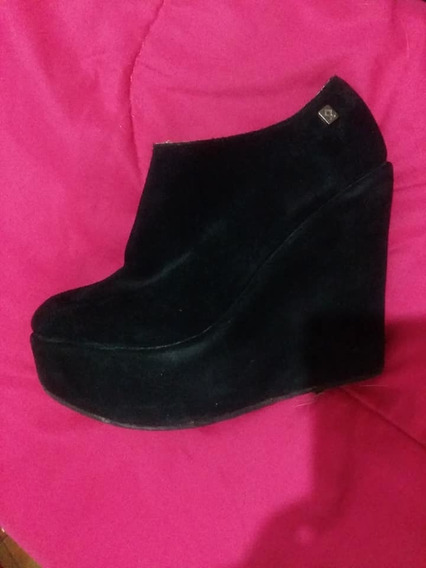 Zapatos Plataforma Negros