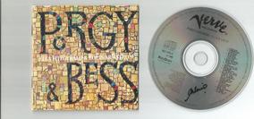 Cd Porgy And Bess Louis Armstrong E Ella Fitzgerald- Encarte