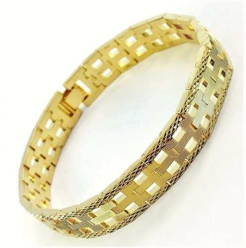 Pulseira Diamantada Banho Ouro 18k 1217