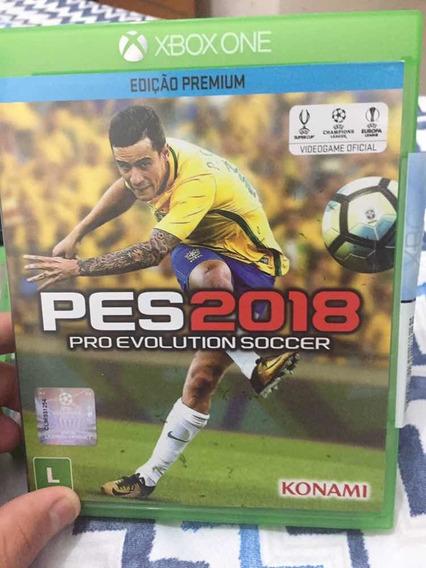 Pes 2018 Xbox One Mídia Física