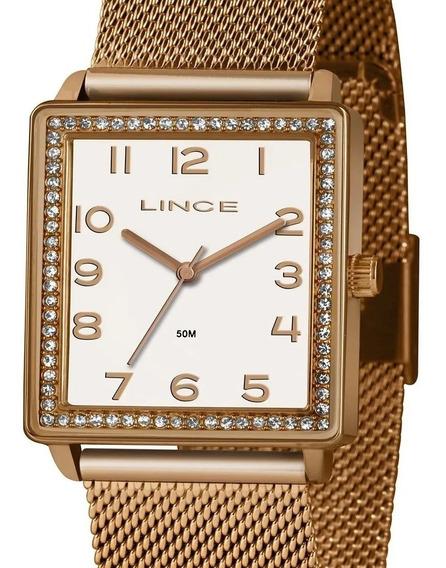 Relógio Feminino Lince Sk65 Original + Nota Fiscal