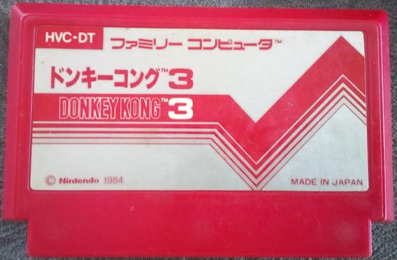 Cartucho 60 Pinos Donkey Kong 3 - Nintendinho Nes Famicom