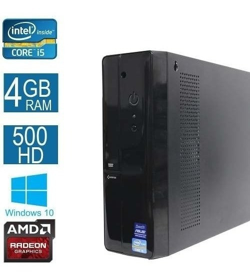 Computador Desktop Asus I5 4gb 500hd