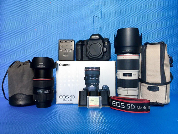 Kit Fotografia - Canon 5d Mark Iii + Canon Ef 24-70 F2.8l Ii