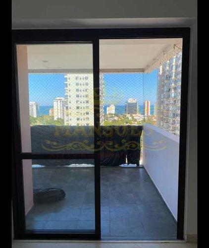 Apartamento Com 2 Quarto Sendo 1 Suite, 2 Vagas, Na Barra Da Tijuca. - Abap20076