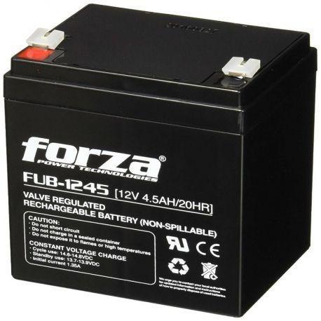 Imagen 1 de 3 de Bateria Forza 12v 4.5amp Ups Cerco Electrico