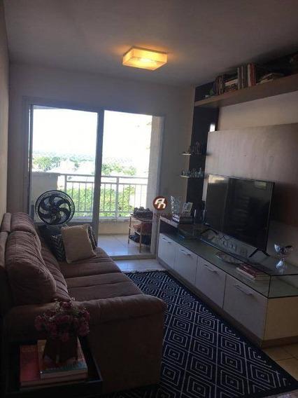 Apartamento Com 2 Dormitórios À Venda, 74 M² Por R$ 355.000 - Cambeba Ed. Gran Parc- Fortaleza/ce - Ap0466