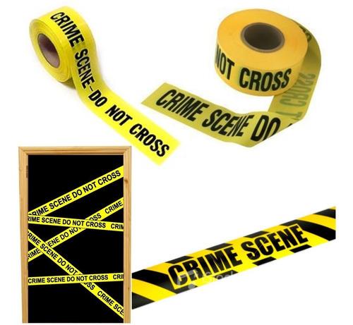 ¡ Cinta Decorativa Crime Scene Fiestas D Terror Halloween !