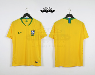 Camiseta Seleccion Brasil Local 2018 Neymar Jr Mundial